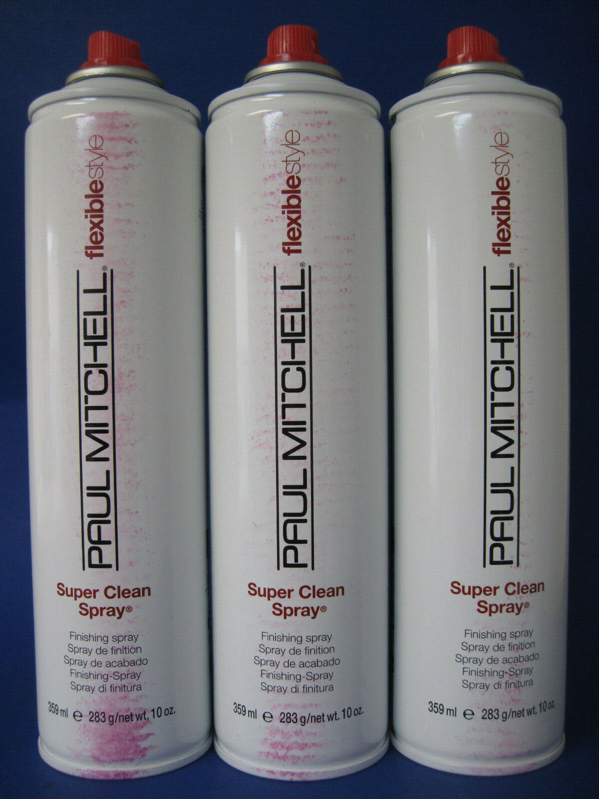 PAUL MITCHELL SUPER CLEAN SPRAY HAIRSPRAY 10 OZ Lot of 3
