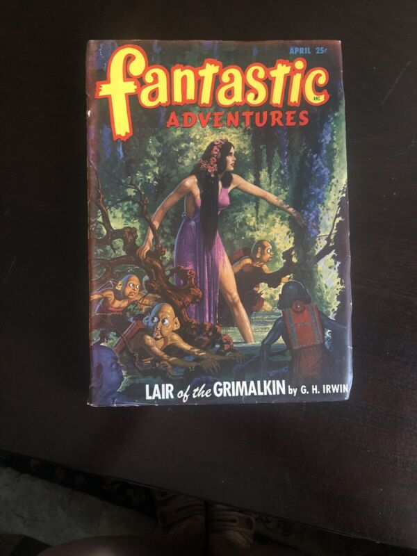 Fantastic Adventure Pulp Vol. 10 #4
