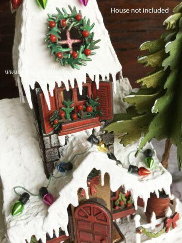 Sizzix Bigz Village Winter die #660988 Retail $24.99 designer Tim Holtz
