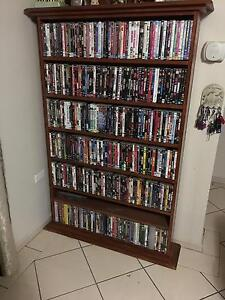 DVD COLLECTION 400 IN STAINED WOOD CUSTOM MADE DVD CASE Nowra Nowra-Bomaderry Preview