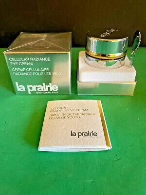 La Prairie Cellular Radiance Eye Cream 0.5 oz NIB Switzerland