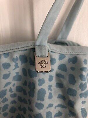 Versace Jeans Couture Blue Strappy Cami Vest Top S Vintage