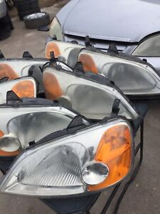 Honda Civic Sedan Headlights 2001-2003