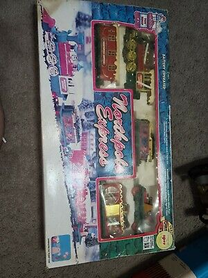 Vintage Toy State 1994 Northpole Express Christmas Train Set 5306 Holiday