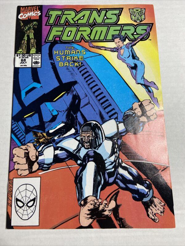 Marvel Transformers #68 VF+