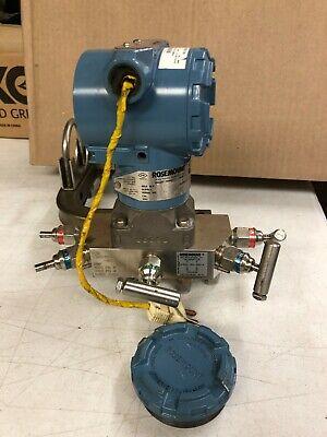 Rosemount Smart Hart Pressure Transmitter