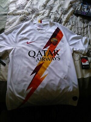 AS Roma 2019-2020 Nike Away Soccer Jersey Size Large NWT  image