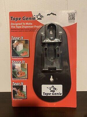 Tape Genie By Regina Transforms 2 Tape Gun Into Multi-purpose Dispenser New Nip