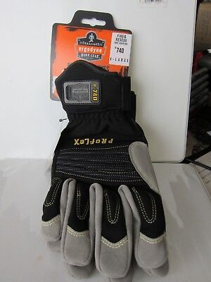 Ergodyne Proflex 740 Fire Rescue Rope Gloves Xl- Black