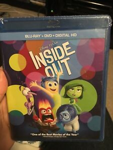 Inside out blu-ray (brand new, still sealed in shrink wrap