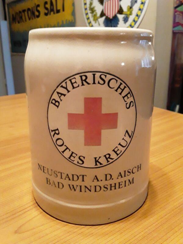 1940 German Red Cross Bayerisches Rotes Kreuz Neustadt AD Risch Windsheim Stein