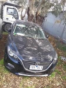 NOW WREAKING MAZDA3 BLACK COLOR ALL PARTS HATCH 2013 Dandenong South Greater Dandenong Preview