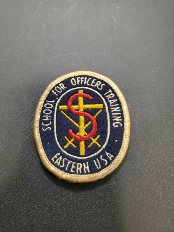 VTG SALVATION ARMY SCHOOL FOR OFFICERS TRAINING EASTWRN USA PATCH