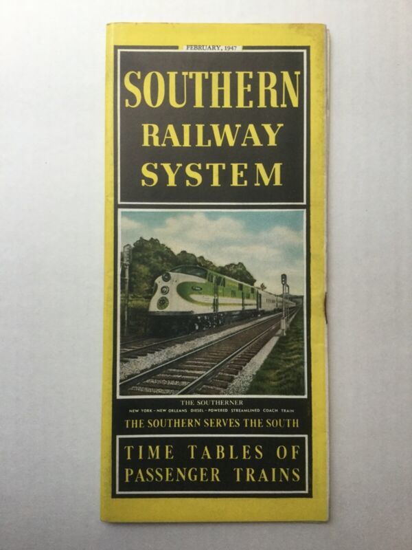 Southern Timetable System February 1947