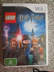 Lego Harry Potter Years 1-4 For Wii ***BRAND NEW*** Campbell North Canberra Preview