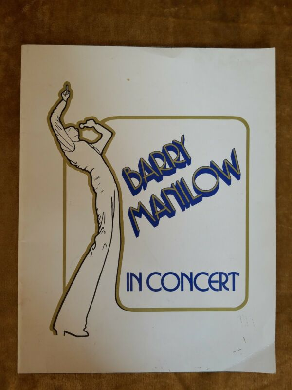 Barry Manilow In Concert Program/Book/Picture Album 1978