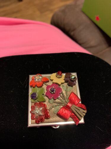 Brand New Brighton Flower Pill Box Orig$38