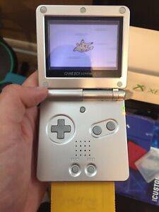 Gameboy Advance SP + Miscellaneous Games