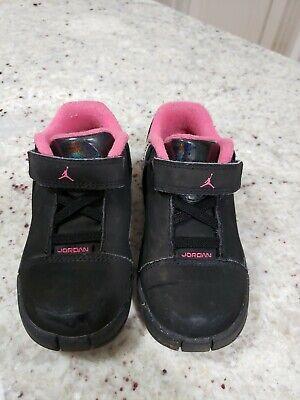2011 Nike Jordan Black/Pink Girls Toddler Shoes! Size 8C