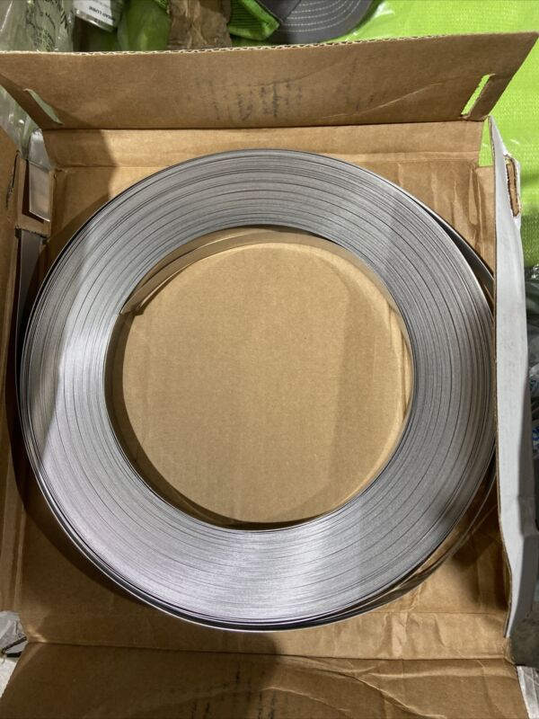 "RPR Stainless Steel Banding, Strapping, Tensioning 1/2"" x .020"" x 200"