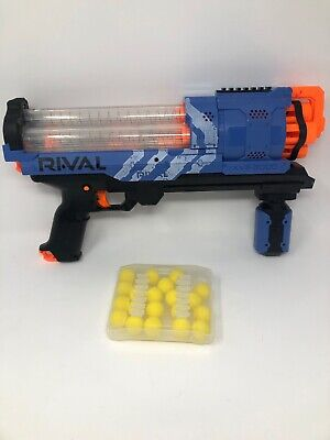 NERF Gun - RIVAL ARTEMIS XVII-3000 Blue - 20 Ammo Balls and Ammo Case