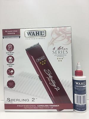 Wahl Sterling 2 -Rechargeable + Free Clipper OIL-Same Day Disptach