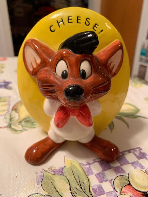 Warner Brothers 1995 Speedy Gonzales Cheese Shaker Rare Retired Discontinued New