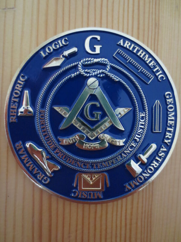 Masonic Auto Car Badge Emblems mason freemason E27 TOOLS