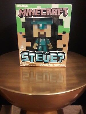 MINECRAFT STEVE Vinyl...........Diamond Steve Action Figure