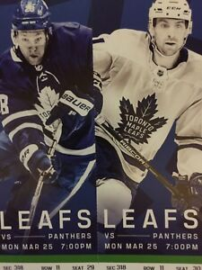 Toronto Maple Leafs vs. Florida Panthers - Mon. Mar. 25