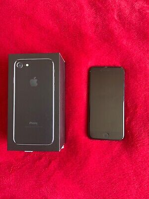 Apple iPhone 7 - 128GB - Black (O2) A1778 (GSM) Used Good Condition, 1 Owner