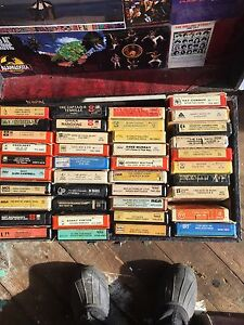 8 track tapes (80 of them)