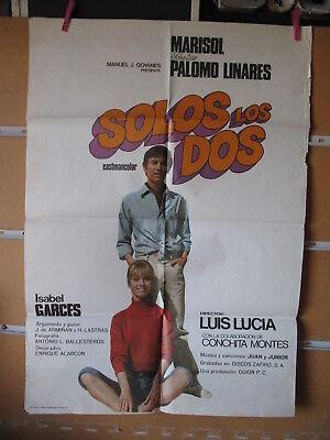 A4565 Solos los dos Pepa Flores (AKA Marisol), Sebastián Palomo Linares, Isabe