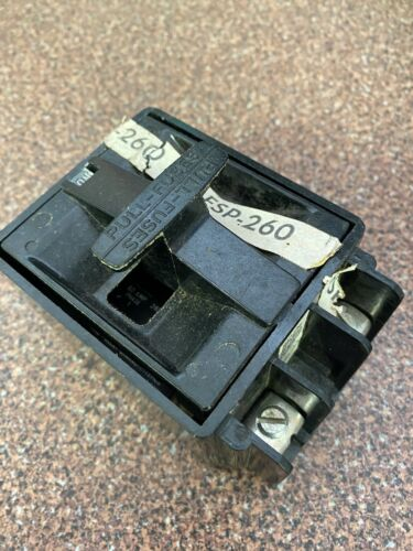 SQUARE D 60A FSP-260 2 POLE FUSE BLOCK AND PULLOUT