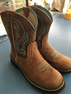 Western Riding Boots Size 7 Redlynch Cairns City Preview