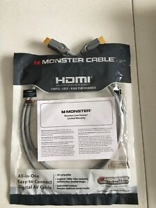 HDMI 4 ft Monster Cable