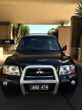 black mitsubishi pajero with full service history + rego + rwc Melbourne CBD Melbourne City Preview