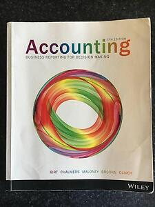 Accounting Business Reporting for Decision Making 5th Edition Adelaide CBD Adelaide City Preview