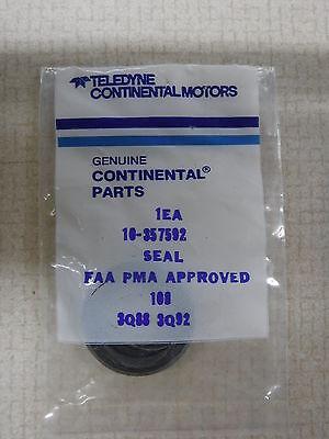 Teledyne Continental Motor Parts Seal 10-357592 Planes Aviation