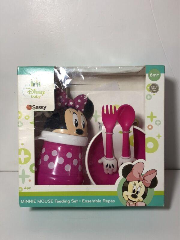 Disney Minnie Mouse Feeding Set