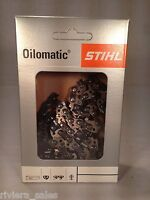 Originale Stihl 63pm3 Catena Motosega / Lama Per Mse160 14, 1.3mm 3/8, .050, - catena - ebay.it