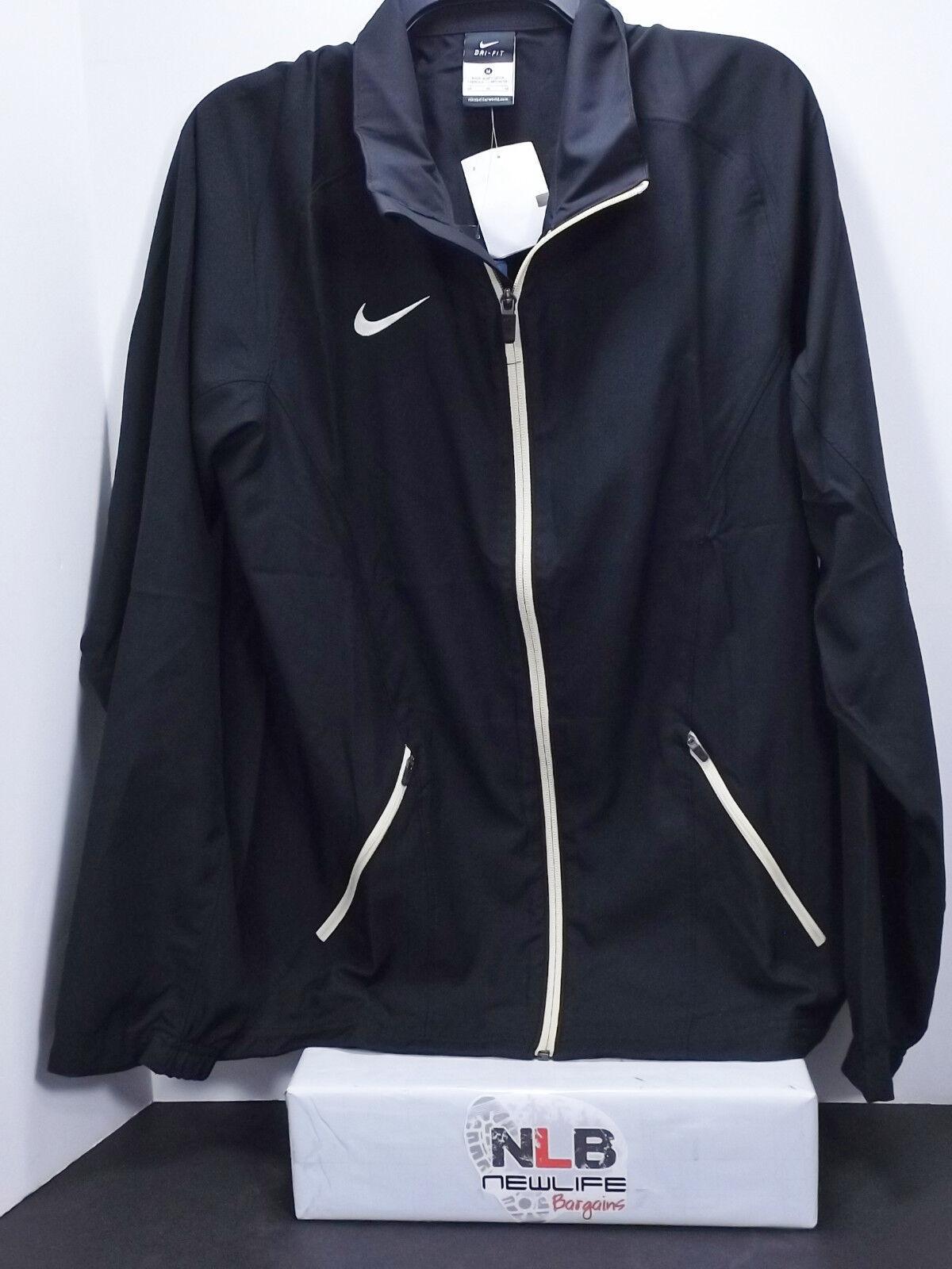 5d18fb252e Details about NEW Nike Disruption Game Men s Basketball Jacket 683357 016  Size Med Black Tan