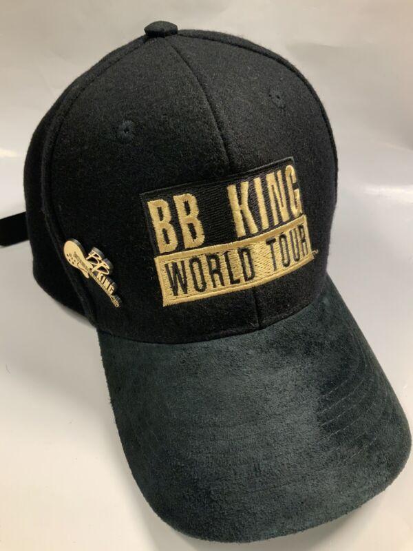 Vintage Hat BB King World Tour Guitar Rare Concert Tour Merchandise W/ Pin