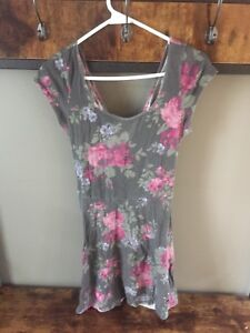 Fit and flare dress, American Eagle, Large