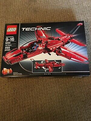 New But Not Sealed LEGO TECHNIC Jet Plane (9394)