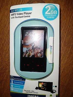jWIN MP3 Video Player with Touchpad control 2 GB Jwin Mp3-player