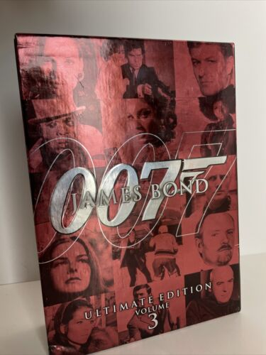 James Bond Ultimate Edition DVD 10 Disc Collection 007 VOLUME 3 Box - $19.96