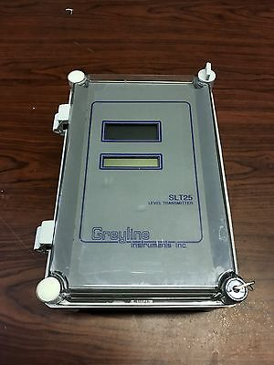 Greyline Instrument Level Transmitter Slt25-pz25te 120 Volt