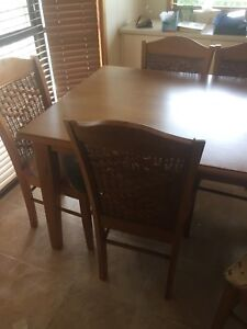 Dining table 6 chairs pick up only no delivery
