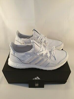 Adidas Ultra Boost Leather White Brand New Size 9